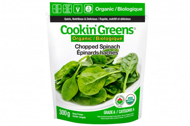 Cookin'Greens Chopped Spinach