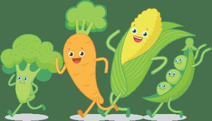 Happy Veggies - Everyone's a winner
