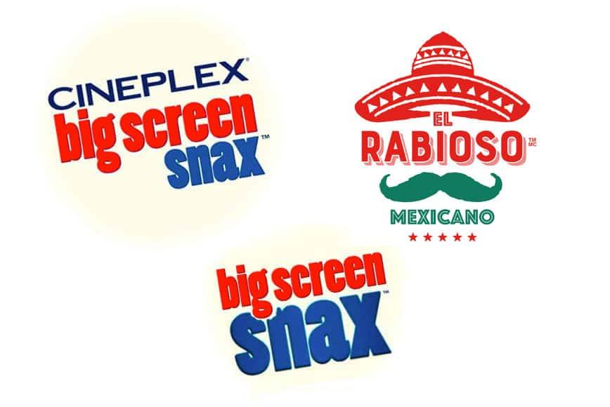 Cineplex Big Screen Snax and El Sabroso